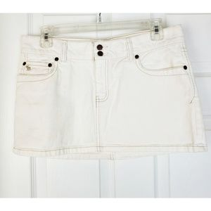 Abercrombie & Fitch denims skirt size 6